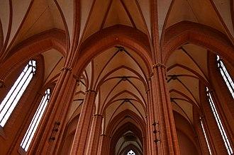 Frankfurt Cathedral - Image: Frankfurt Cathedral Vaults