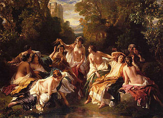 <i>Florinda</i> (painting) Painting by Franz Xaver Winterhalter