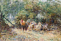 Frederick McCubbin - Study of Poultry, 1908.jpg