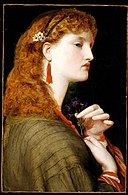 Frederick Sandys (1829-1904) - May Margaret, 1865-6