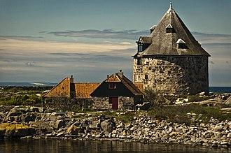 Ertholmene - Image: Frederiksø buildings