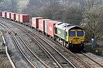 Freightliner Freightliner 66594 Hatton Locks(3) (30310930292).jpg