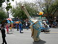 Fremont Solstice Parade 2007 - water greed monster 03.jpg
