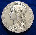 French Art Nouveau Medal 1903 Suresnes, obverse.jpg