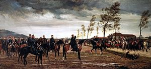 Siege of Metz (1870) - Image: Freyberg – Übergabe von Metz