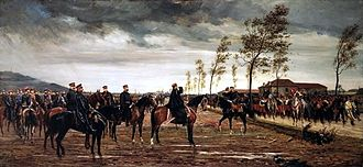 Siege of Metz (1870) - The Surrender of the French Army at Metz, Conrad Freyberg (1876)