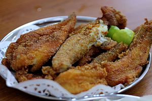 Bombay duck - Fried Bombay duck