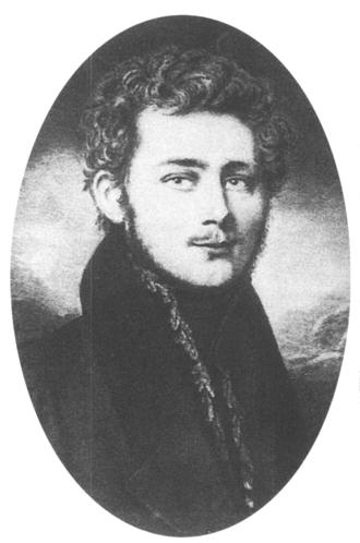 Friedrich Harkort - Friedrich Harkort in 1820