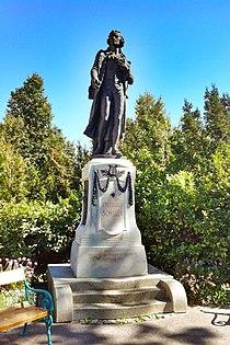 Friedrich Schiller Monument, Schillerpark, Sankt Poelten.jpg