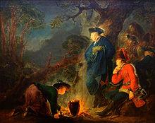 Frederick before the Battle of Torgau, 1760 (Source: Wikimedia)