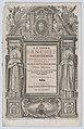 Frontispiece for 'Opus morale in praecepta Decalogi' MET DP874045.jpg