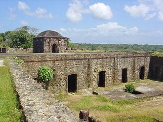 Chagres and Fort San Lorenzo - Image: Fuerte san lorenzo 1b