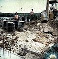 Fuetenma leaking barrels unearthed summer 1981..JPG