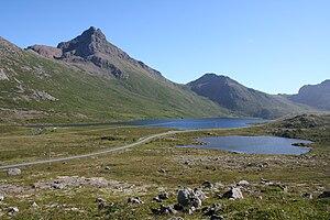 Langøya - Image: Fv 915 Nordland c