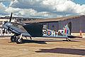 G-ASKH(RR299) DH.98 Mosquito T.3 Rolls Royce MAN SEP87 (12901446594).jpg