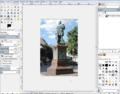 GIMP Einzelfenstermodus mit geöffnetem Bild 900.PNG