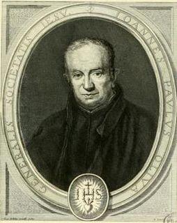 Giovanni Paolo Oliva Iralian Jesuit