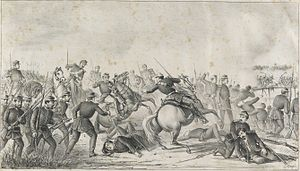 Battle of Ytororó - Episode of the passage and take of the bridge over the stream Ytororó, on December 6, 1868.