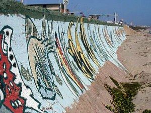 Galveston Seawall - Image: Galvestonseawall