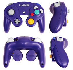 Purple GameCube controller breakdown