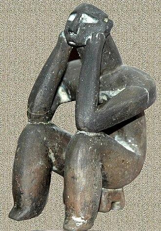 Romania in Antiquity - Image: Ganditorul de la hamangia