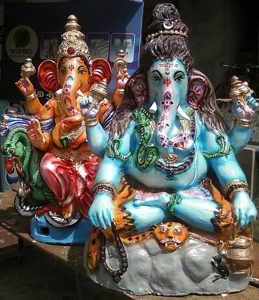 Ganesha Idols at Thagarapuvalasa