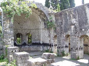 Gantiadi church - Ruins of Gantiadi church