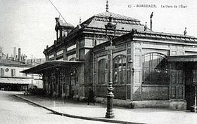 Image illustrative de l'article Gare de Bordeaux-État