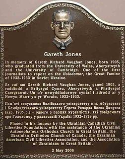 Gareth Jones (journalist) journalist