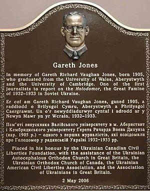 Gareth Jones (journalist) - Image: Gareth Jones 3