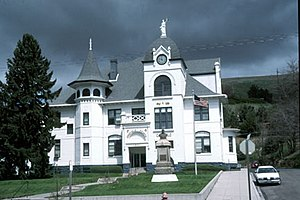 Garfield County, Washington - Image: Garfield County Courthouse