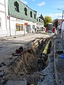 Gas pipe lining in Tallinn old town.JPG