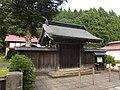 Gate of the Jomyo-ji, Noshiro.jpg