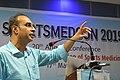 Gaurav Gupta Delivering Lecture - Shoulder Injuries in Sports - SPORTSMEDCON 2019 - SSKM Hospital - Kolkata 2019-03-17 0272.JPG