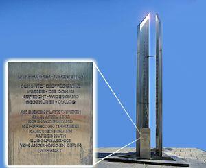 Karl Biedermann - Memorial in Wien-Floridsdorf