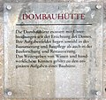 Gedenktafel Domplatz (Meißen) Dombauhütte.jpg