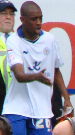 Gelson Fernandes - Fernandes playing for Leicester City in 2011