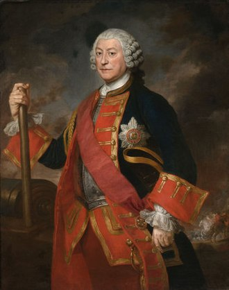 Royal Horse Guards - General Earl Ligonier, in the uniform of Colonel of the Royal Regiment of Horse Guards, c.1754