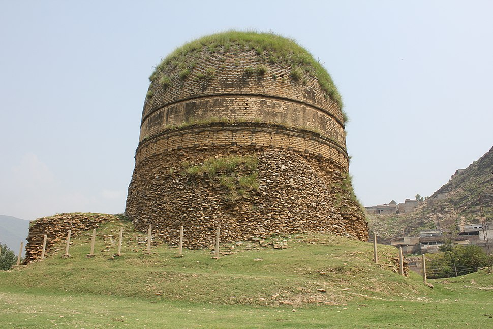 General View of Shingardar Stupa - From Eastern Side