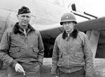 General Weyland and his aide, 1st Lieutenant Braswell.JPG