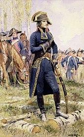 Il generale Bonaparte nel periodo della prima campagna d'Italia