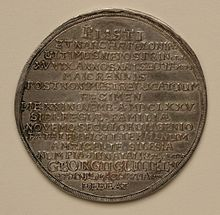 Georg Wilhelm of Liegnitz Brieg medal 1675 rev.jpg