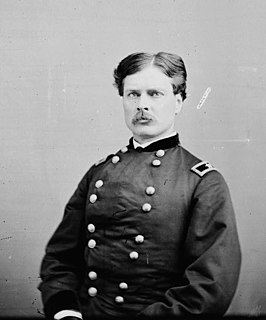 George Alexander Forsyth United States Army cavalry officer in the Civil War and American Indian Wars
