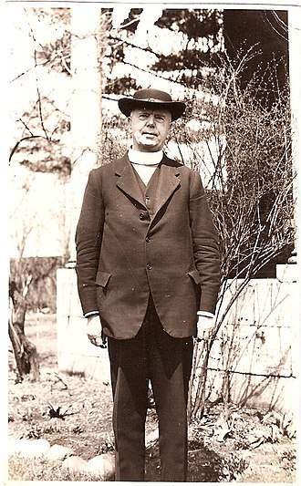 George Lloyd (bishop of Saskatchewan) - George Exton Lloyd in the 1930s