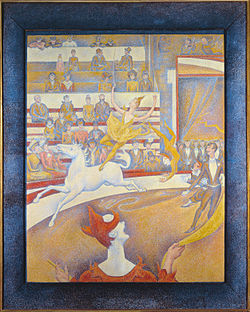 Georges Seurat, 1891, Le Cirque (The Circus), oil on canvas, 185 x 152 cm, Musée d'Orsay.jpg