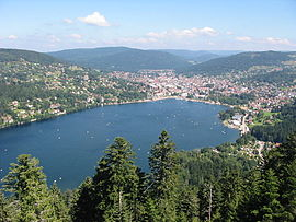 Gérardmer and its lake