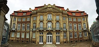 Mary of the Divine Heart - The Erbdrostenhof Palace (in Münster, Germany), birthplace of Maria Droste.