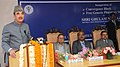 Ghulam Nabi Azad addressing at the inauguration of the Convergence Block and Free Generic Pharmacy Store, at AIIMS, in New Delhi. The Secretary, Ministry of Health & Family Welfare, Shri Lov Verma is also seen.jpg