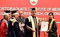 Ghulam Nabi Azad presenting the degrees, at the 32nd Convocation of the Post Graduate Institute of Medical Sciences and Research (PGIMER), in Chandigarh on April 28, 2012.jpg
