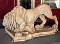 Gian lorenzo bernini, leone che si abbevera, modello in terracotta per la fontana dei fiumi.JPG